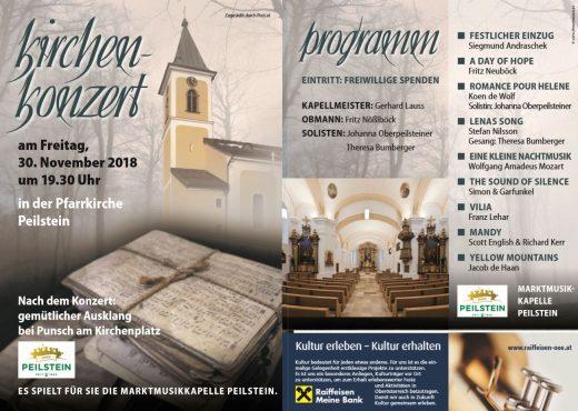 Einladung und Programm Kirchenkonzert