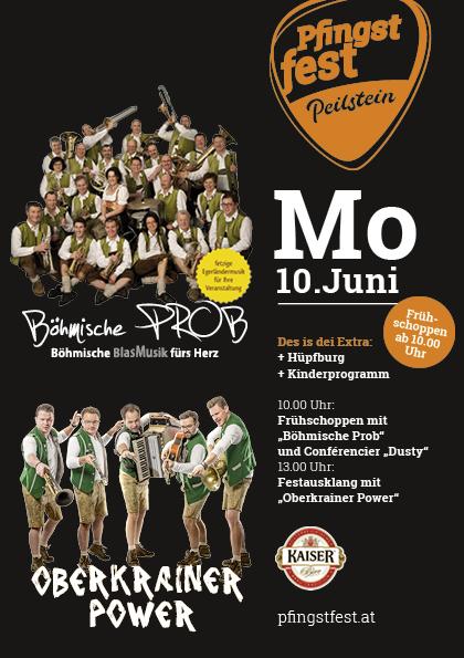 Pfingstfest Programm Montag